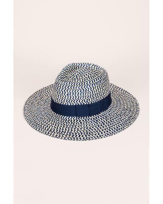 Brixton - Blue Joanna Hat - Lyst