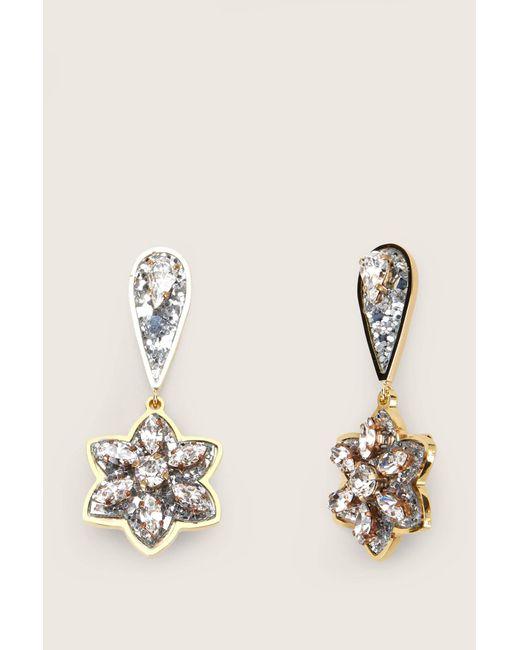 Shourouk - Gray Earrings - Lyst