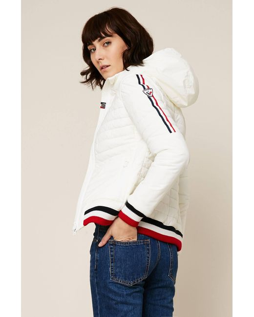 Rossignol - White Quilted Jacket - Lyst