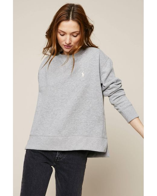 Polo Ralph Lauren   Gray Sweatshirt   Lyst