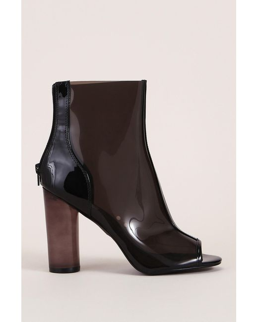 Steve Madden | Black Bootee And Ankle Boot | Lyst