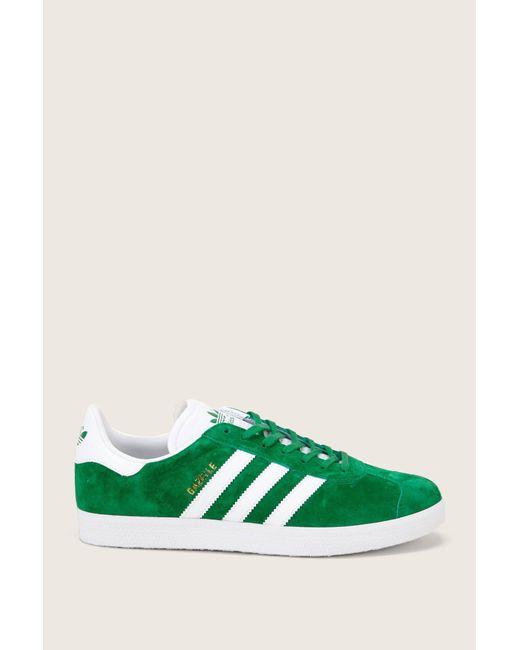lyst adidas niedrigen top - trainer im grünen für männer