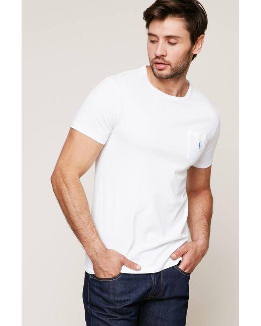 Polo Ralph Lauren | White T-shirt for Men | Lyst