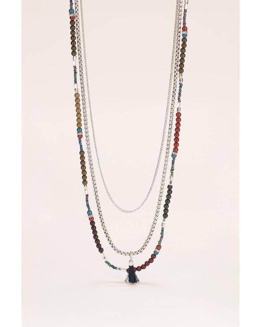 IKKS | Gray Necklace / Longcollar | Lyst