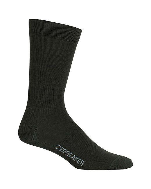 Icebreaker - Black Lifestyle Ultralight Crew Sock for Men - Lyst