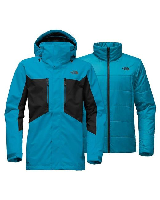 The North Face | Blue Clement Triclimate Jacket for Men | Lyst