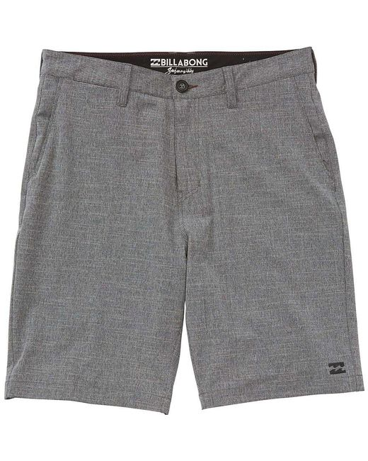 Billabong - Gray Men's Crossfire X Hybrid Shorts for Men - Lyst