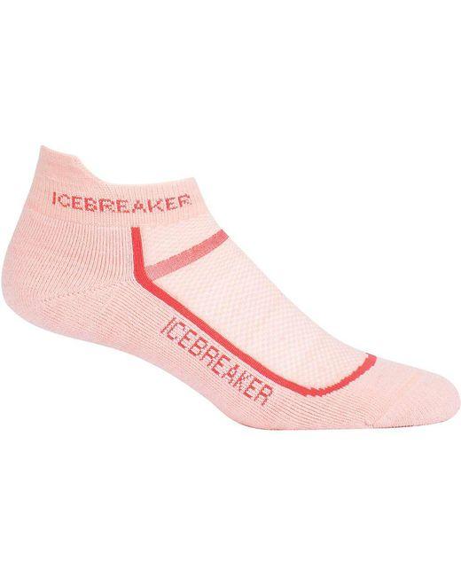 Icebreaker - Pink Multisport Cushion Micro Sock - Lyst