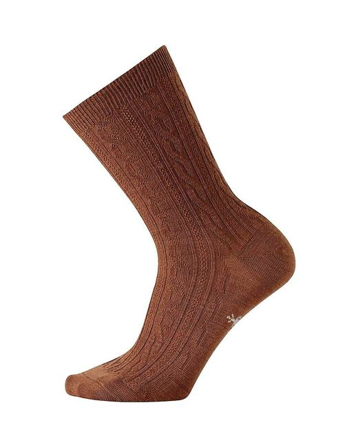 Smartwool - Brown Cable Ii Sock for Men - Lyst