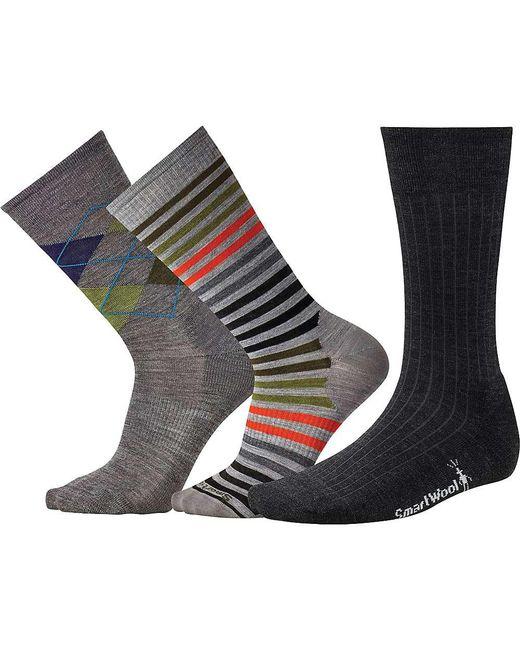 Smartwool - Multicolor Trio 1 Sock - 3-pack for Men - Lyst