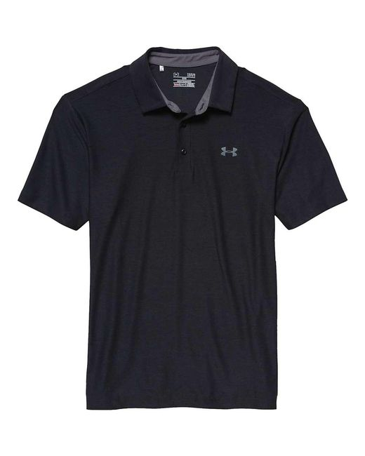 Under Armour - Black Ua Playoff Polo for Men - Lyst