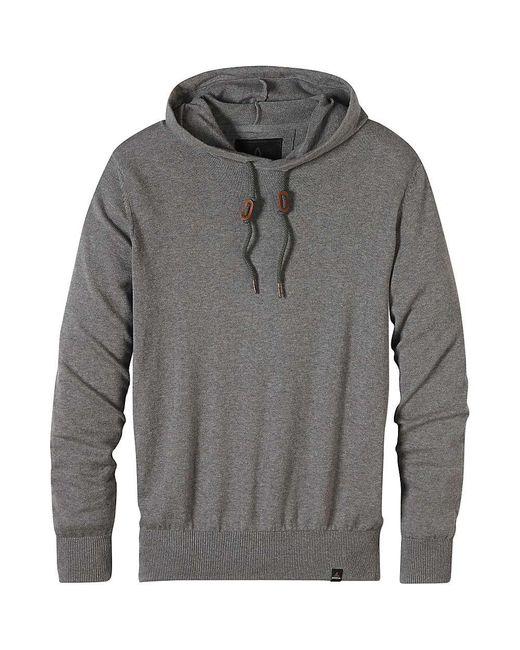 Prana   Gray Throw On Hooded Sweater for Men   Lyst