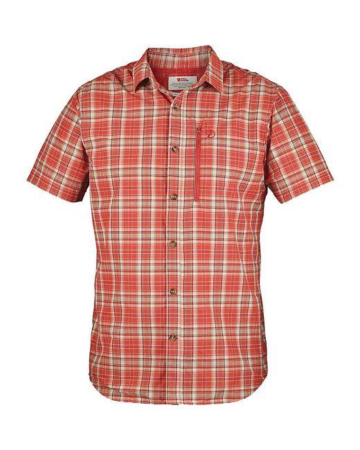 Fjallraven | Orange Abisko Hike Ss Shirt for Men | Lyst