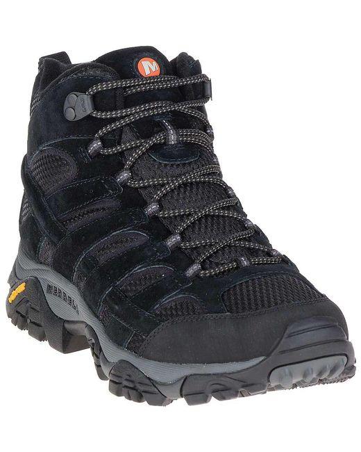 Merrell - Black Moab 2 Vent Mid Boot for Men - Lyst