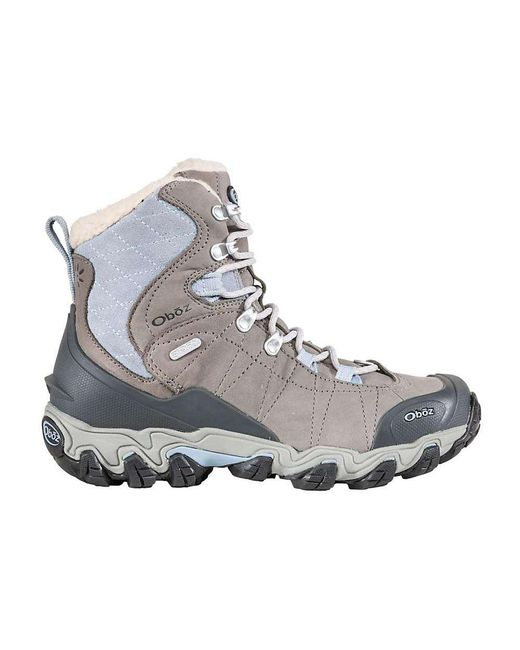 Oboz | Gray Bridger Insulated Bdry 7in Boot | Lyst