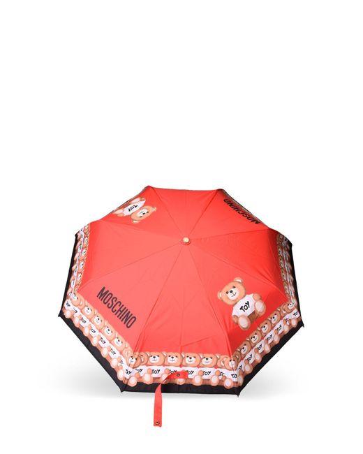 Moschino | Red Mini Umbrella | Lyst