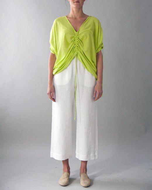 M.Patmos - Yellow Brooke Drawstring Poncho - Lyst