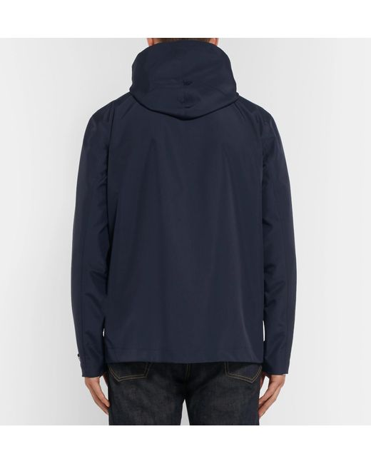 Blue For Mr P Jacket Men Hooded Shell Lyst pz6xUq5