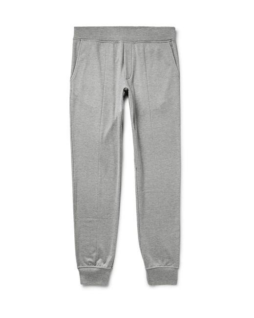 Particular Discount Leather-trimmed Loopback Cotton-jersey Sweatpants Berluti Free Shipping Best Wholesale Outlet Discounts Sale Brand New Unisex 6AWZtao9ZU