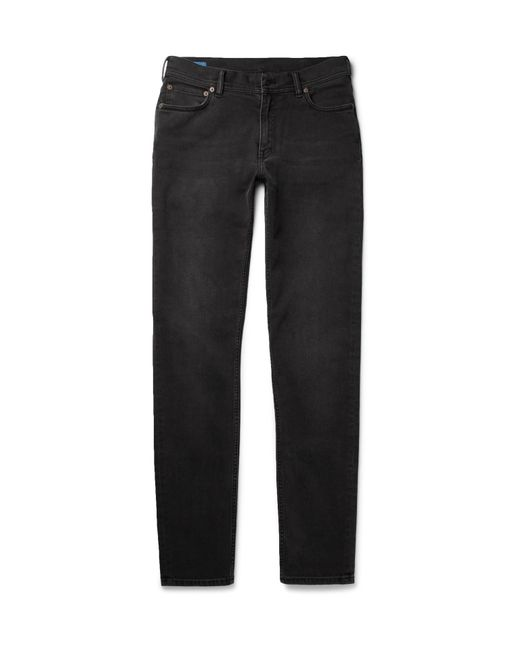 Acne | Black North Slim-fit Stretch-denim Jeans for Men | Lyst
