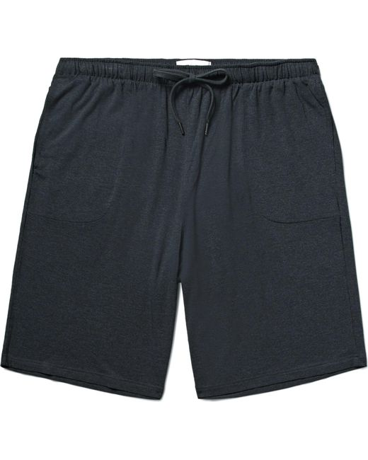 Derek Rose - Gray Marlowe Stretch Micro Modal Jersey Pyjama Shorts for Men - Lyst