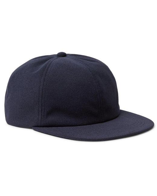Beams Plus - Blue Melton Baseball Cap for Men - Lyst