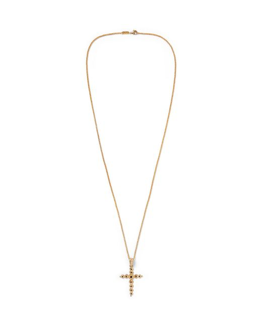 Dolce & Gabbana | Metallic Gold-tone Crystal Necklace for Men | Lyst