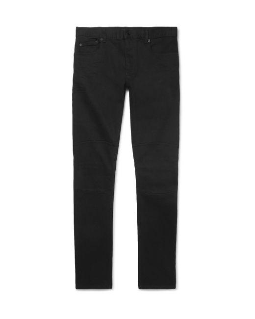 Belstaff - Black Tattenhall Skinny-fit Stretch-denim Jeans for Men - Lyst