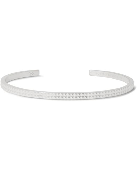 Le Gramme | Metallic Le 9 Studded Sterling Silver Cuff for Men | Lyst