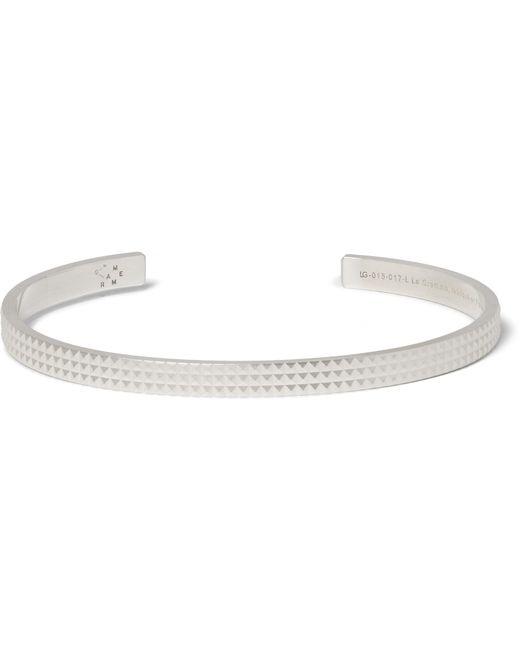 Le Gramme | Metallic Le 13 Matte Silver Cuff for Men | Lyst
