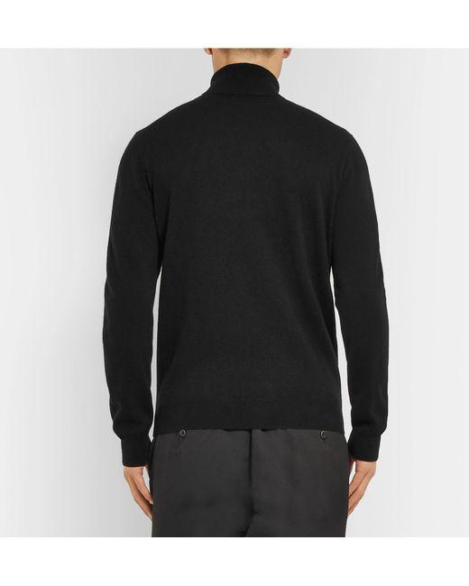 Black Altea Men Sweater Lyst Rollneck Cashmere For 6UUwqd
