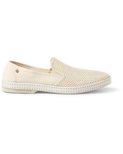 81d87dbd5 ... Rivieras - White Cotton-mesh Espadrilles for Men - Lyst ...