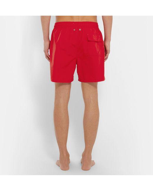 8cfb7a9999b99 ... wholesale polo ralph lauren red traveler mid length swim shorts for men  lyst 5931f 4bf0d