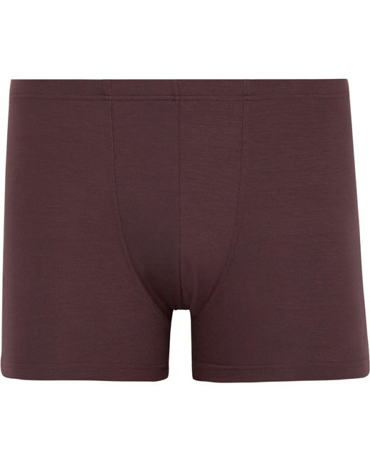 Zimmerli | Purple Pureness Stretch-micro Modal Boxer Briefs for Men | Lyst