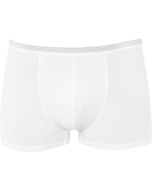 Zimmerli   White Pure Comfort Stretch-cotton Boxer Briefs for Men   Lyst