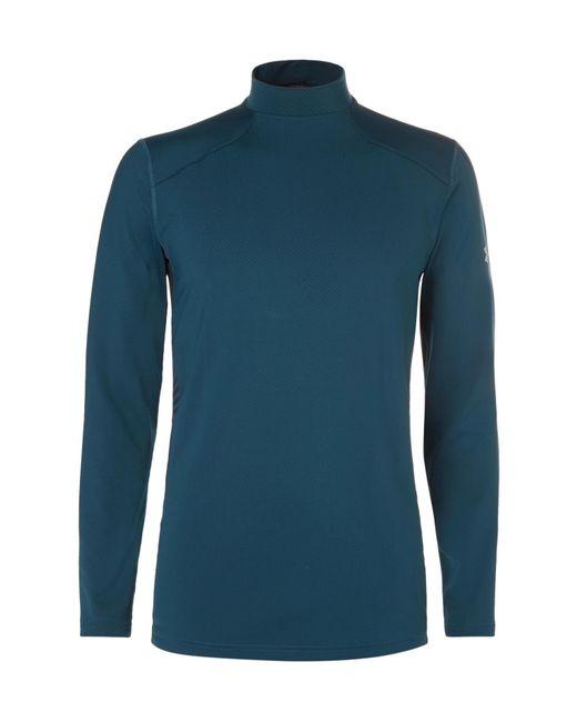 Under Armour - Blue Coldgear Reactor Jersey T-shirt for Men - Lyst