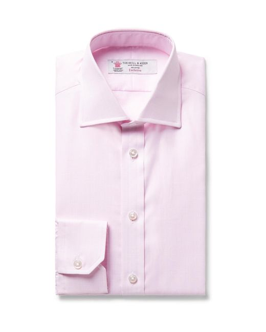 Turnbull & Asser | Pink Slim-fit Woven Cotton Shirt for Men | Lyst