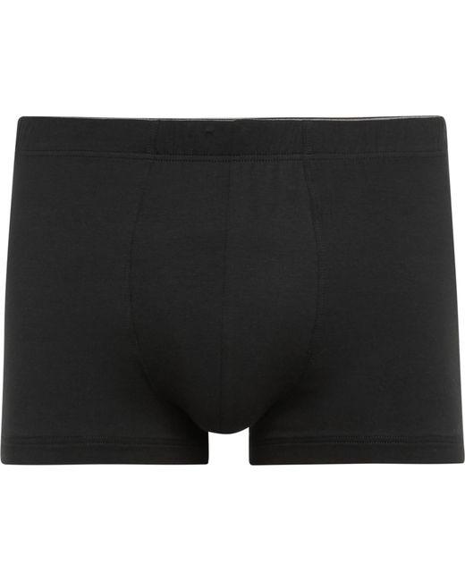 Hanro - Black Superior Stretch-cotton Boxer Briefs for Men - Lyst