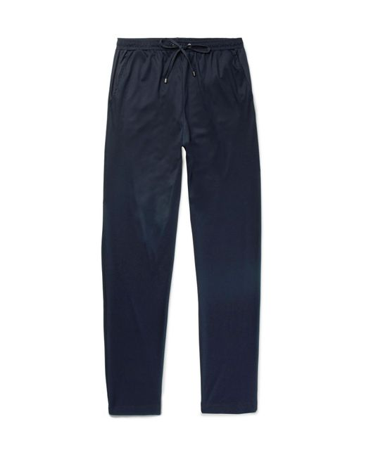 Zimmerli | Blue Cotton And Modal-blend Jersey Pyjama Trousers for Men | Lyst
