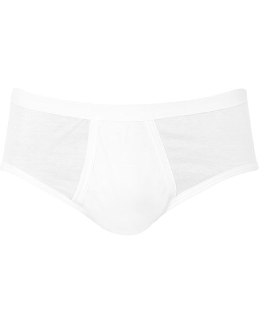 Zimmerli - White Royal Classic Cotton Briefs for Men - Lyst