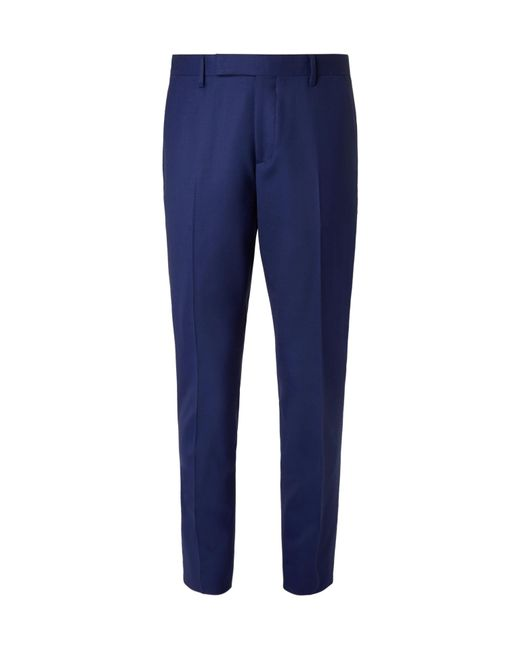 Paul Smith | Blue Soho Travel Slim-fit Wool-twill Suit Trousers for Men | Lyst