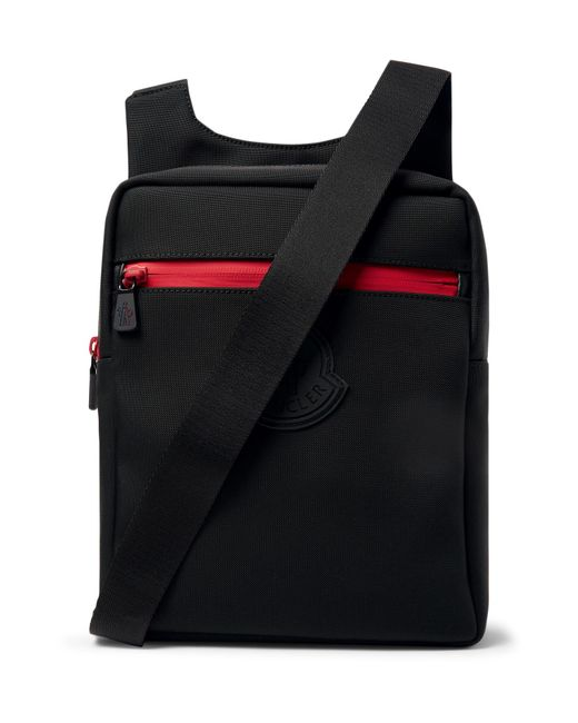 Lyst In Bag Men Moncler For Black Canvas Messenger 0Zz4WwqFv