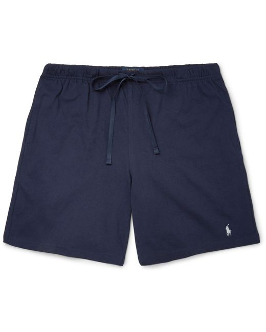 Polo Ralph Lauren | Blue Cotton-jersey Pyjama Shorts for Men | Lyst