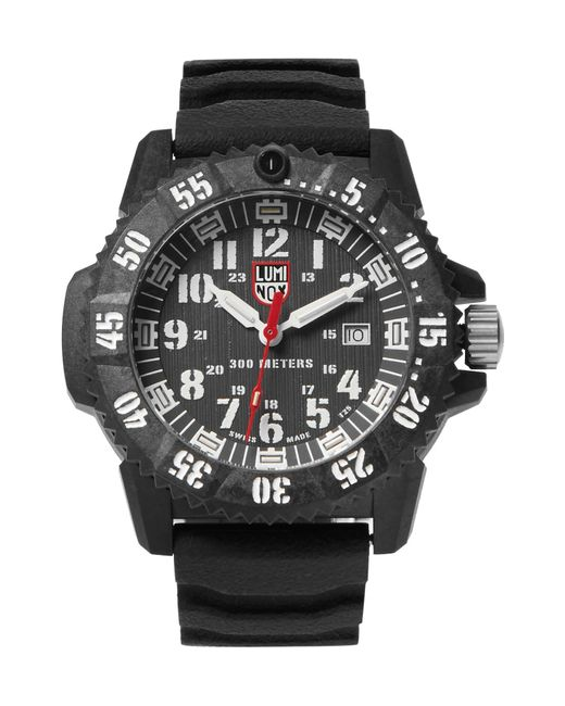 Luminox - Black 3800 Series 3801 Carbon-reinforced And Rubber Watch for Men - Lyst