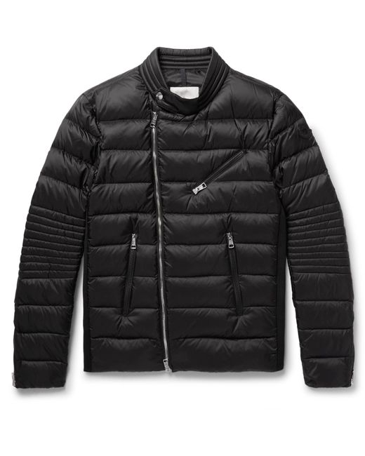 Moncler | Black Aubin Quilted Shell Down Jacket for Men | Lyst