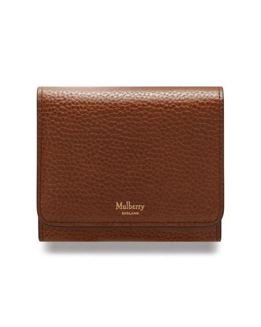 Mulberry | Brown Small Continental French Purse | Lyst