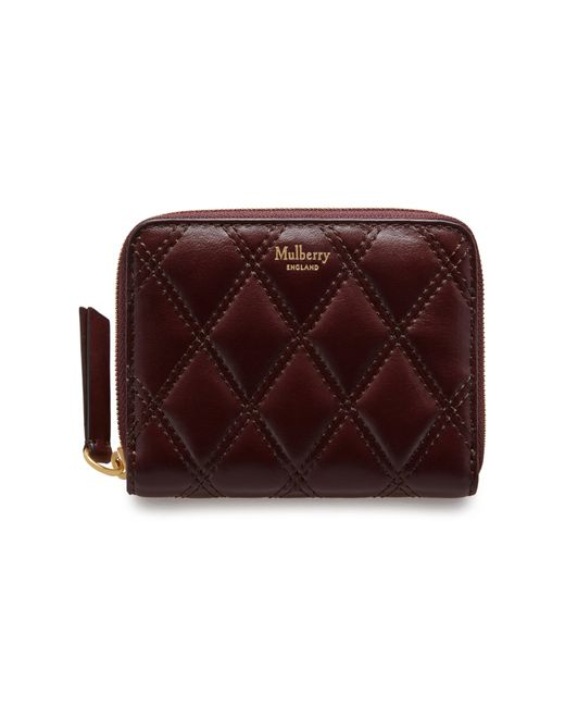 Mulberry - Multicolor Small Zip Around Purse - Lyst