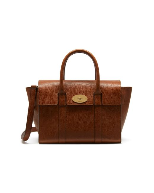Mulberry - Brown Small 'bayswater' Tote - Lyst