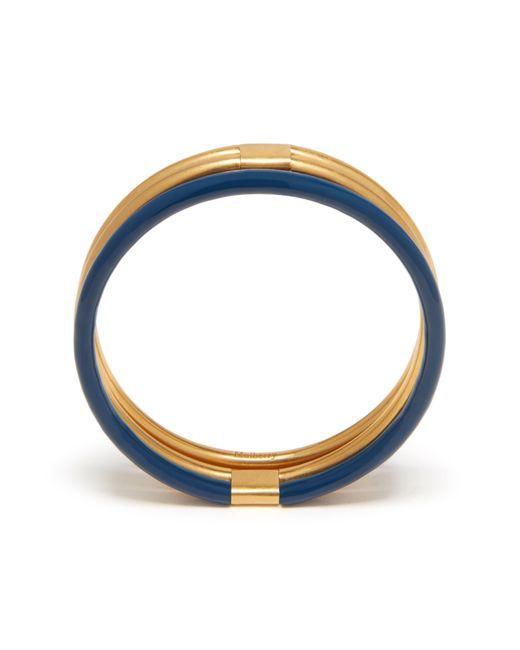 Mulberry | Blue Triple Bracelet | Lyst