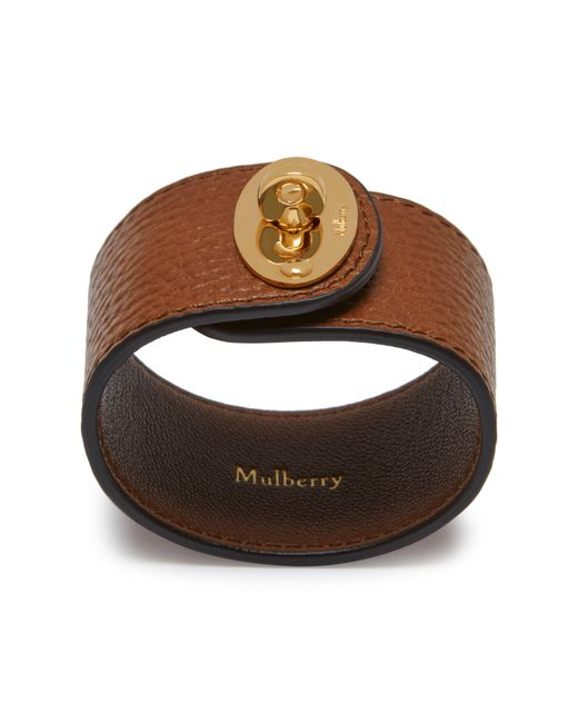 Mulberry - Brown Large Bayswater Bracelet - Lyst